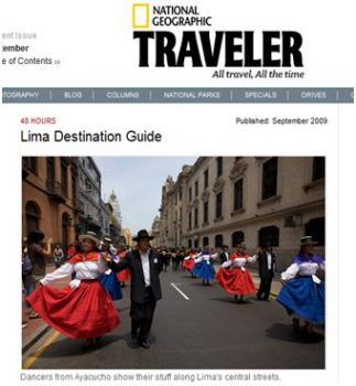 48 hours in Lima according to National Geographic Traveler, Aracari Travel