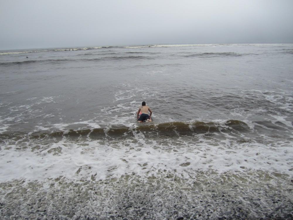 Surf's Up! Surfing Lesson Lima, Aracari Travel