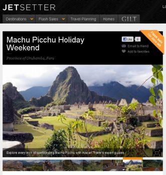 Cruising to new heights: Aracari on Jetsetter.com, Aracari Travel