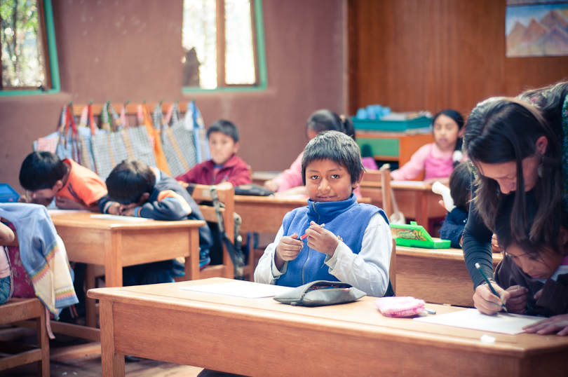 Visit to Kusi Kawsay School in Peru's Sacred Valley, Aracari Travel