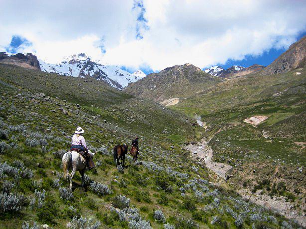 peru horseback riding aracari