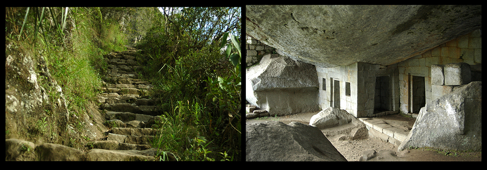 Hiking the Gran Caverna Path at Huayna Picchu to the Temple of  the Moon