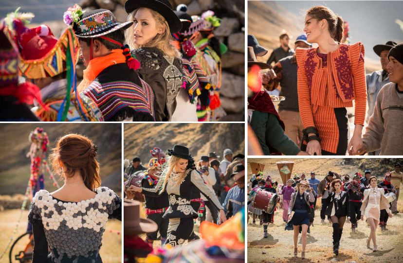 Escudo fashion outdoors collage