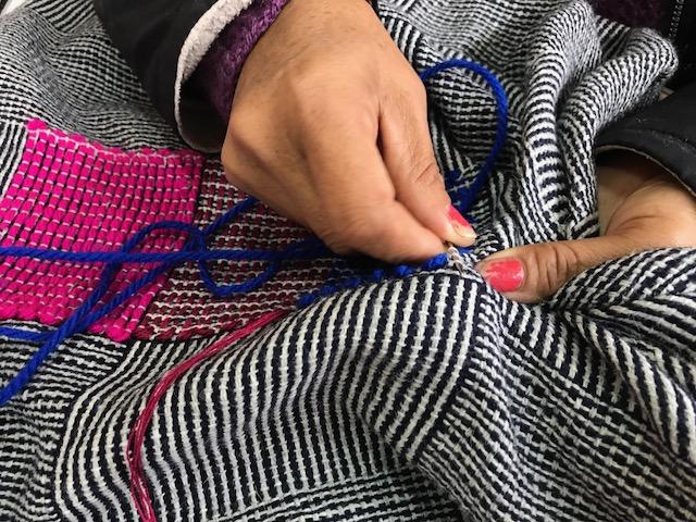escudo weaving