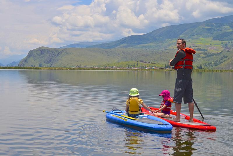 Stand Up Paddle Cusco, Aracari Travel