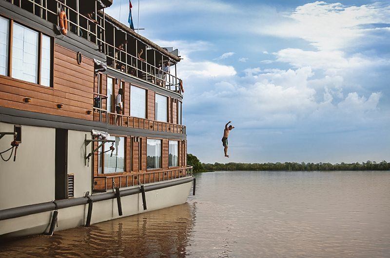 The new and improved Delfin II Amazon cruise vessel relaunches, Aracari Travel
