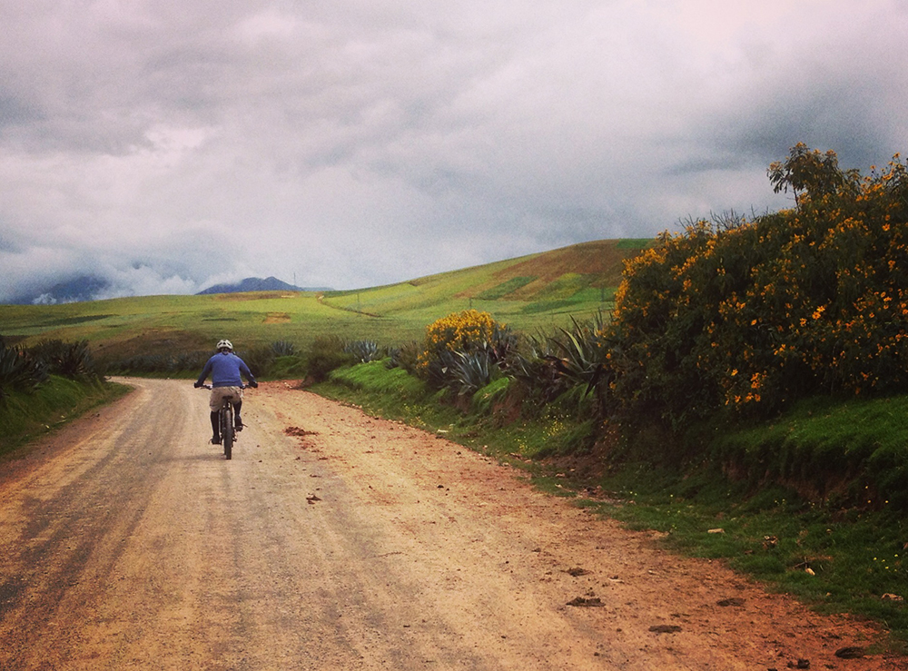 Mountain Biking Adventure in the Sacred Valley to Moray and Maras