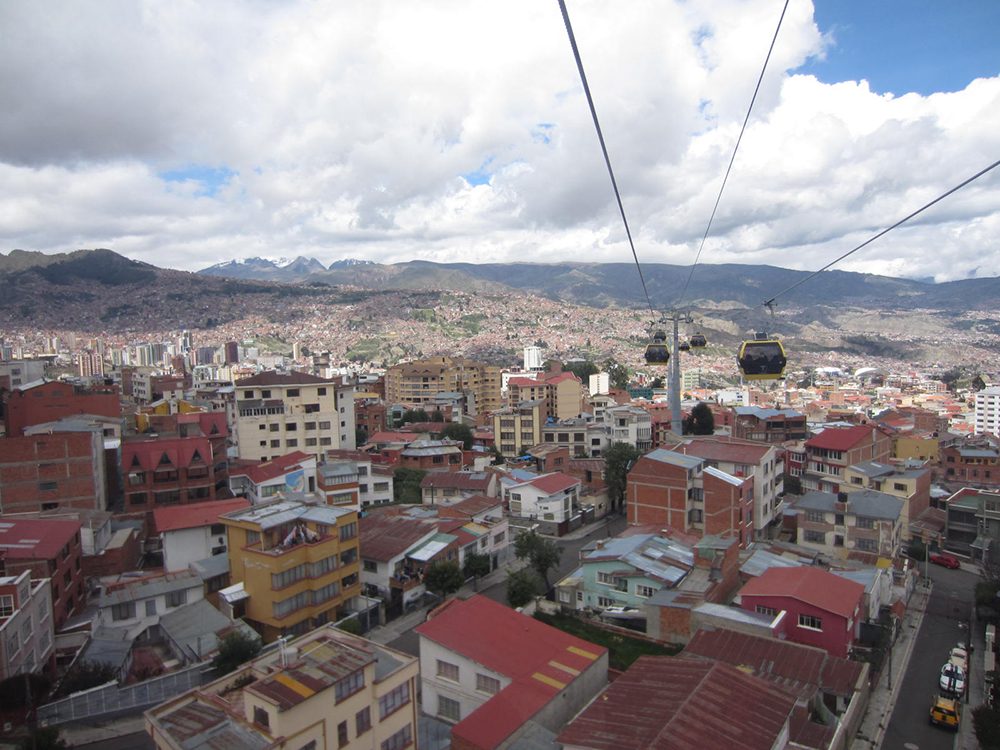 The View from Above: Riding the Cable Cars in La Paz, Bolivia