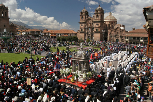 The Festival of Cusco Festivals: Corpus Christi
