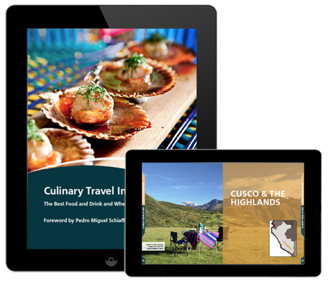 culinary travel in peru