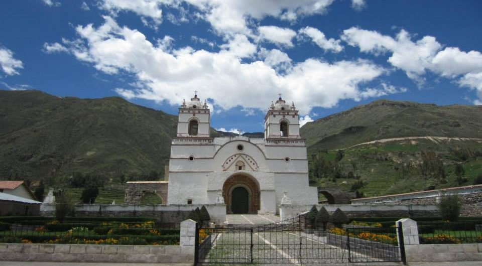 colca canyon churches