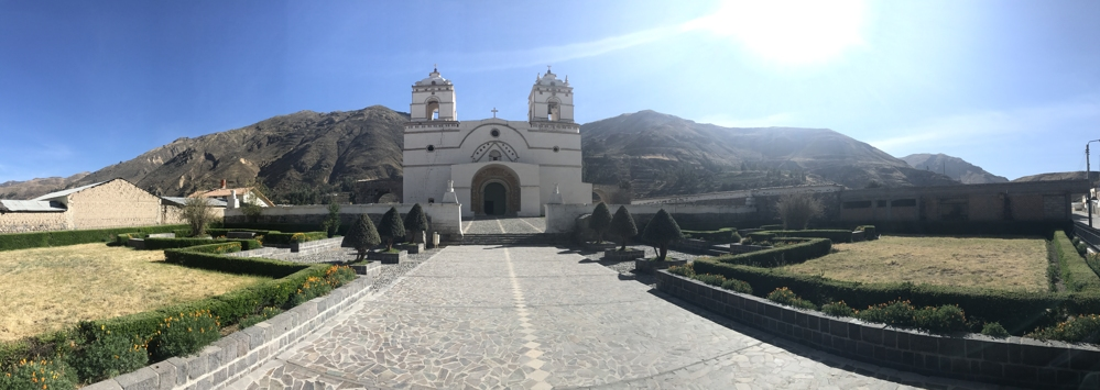 lari colca canyon churches