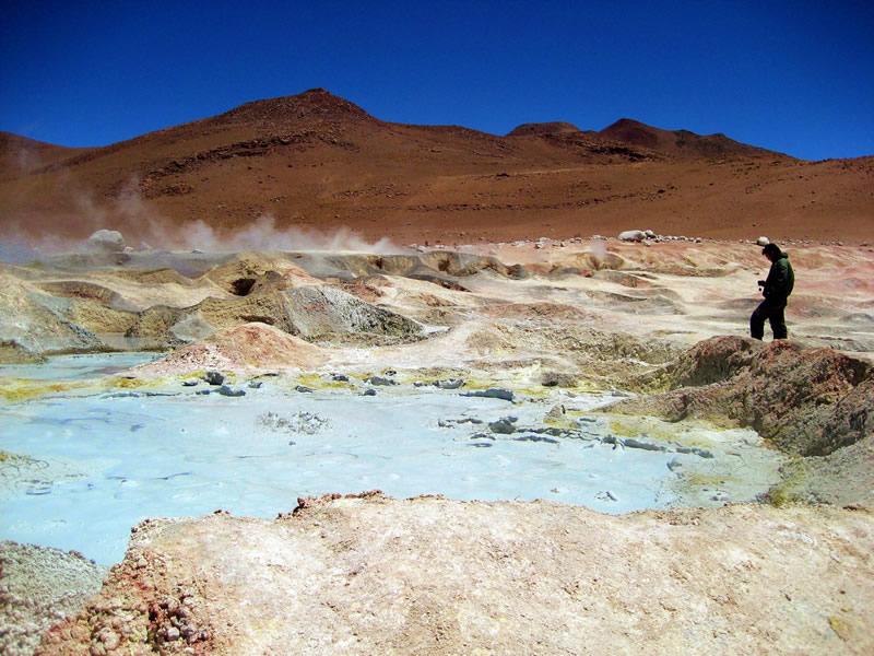salar de uyuni luxury trips - geyser