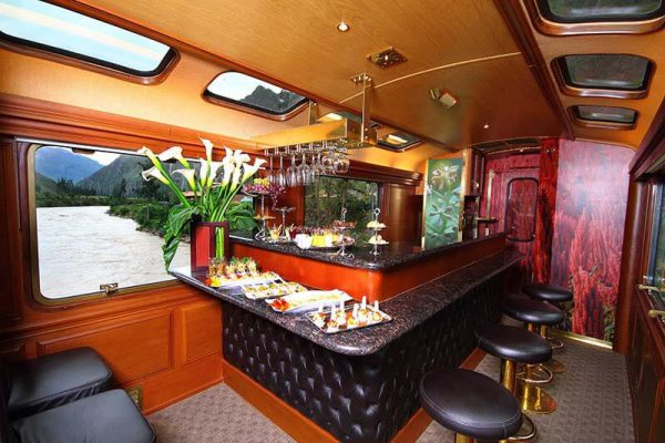 Inca Princess private train carriage