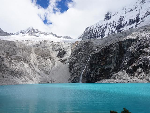 Hike to Laguna 69 in the Cordillera Blanca