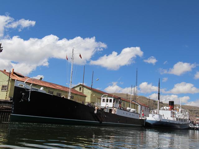 Yavari – historic vessel on the move again