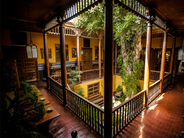 Casa Aliaga in Lima's historic centre