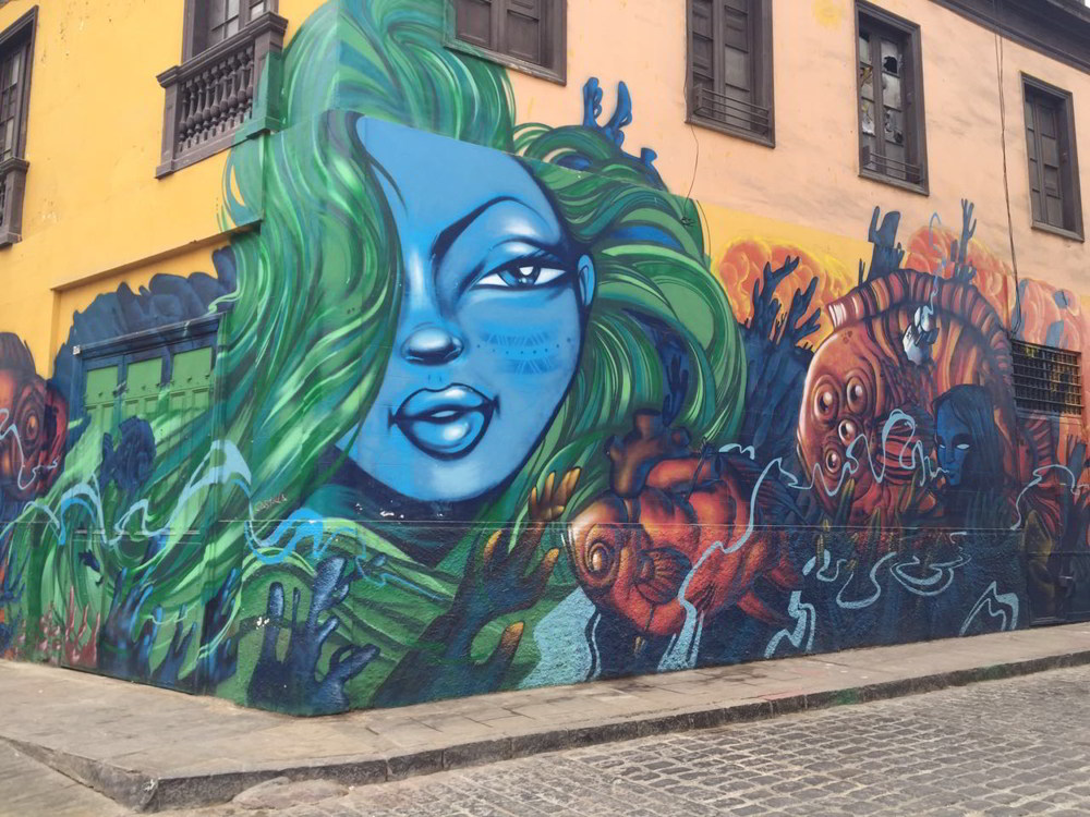 Callao Monumental: Urban art in Lima