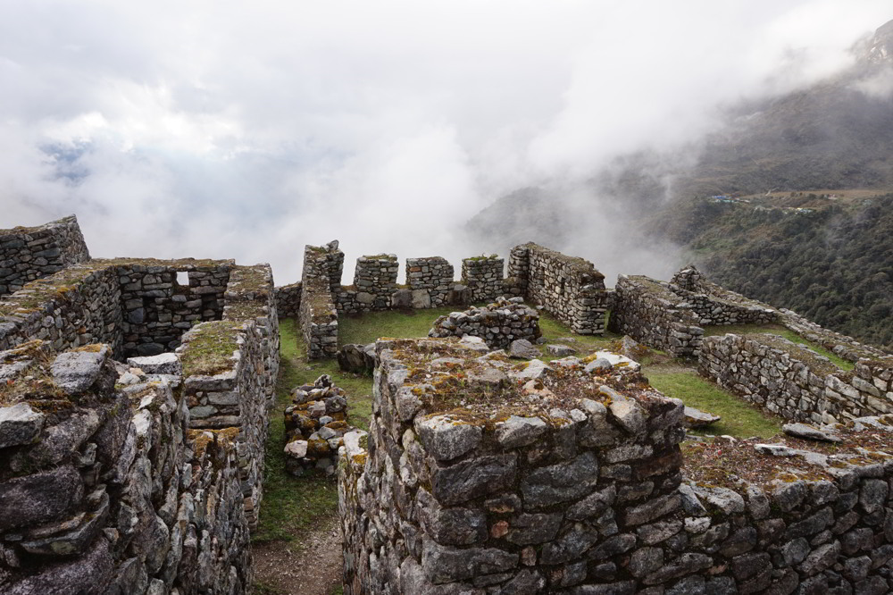 Inca Trail in Peru - Open air history lesson