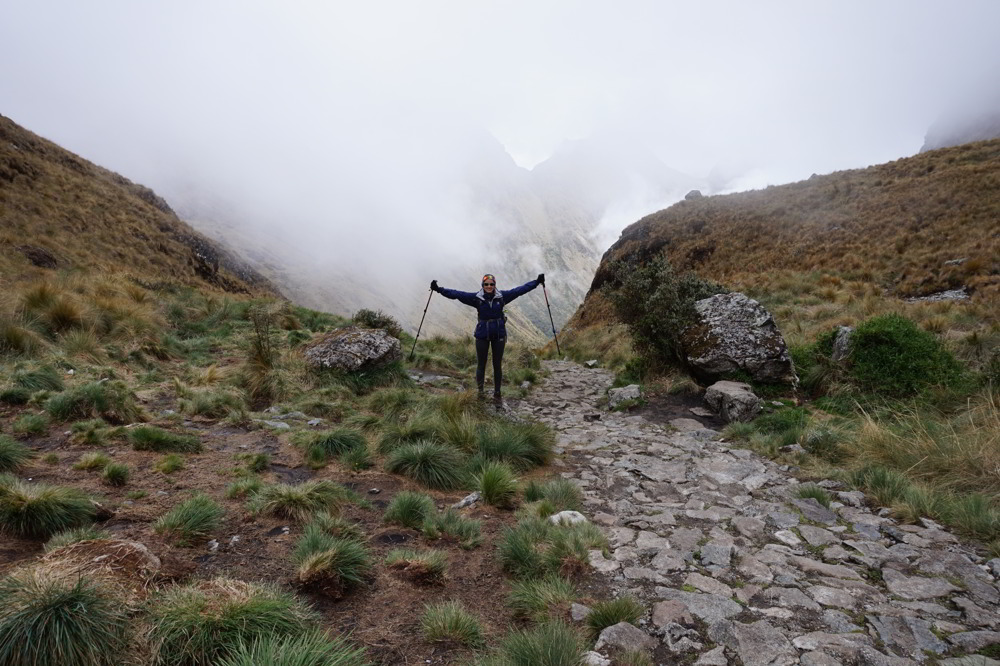Inca Trail in Peru - Solitude along the trail