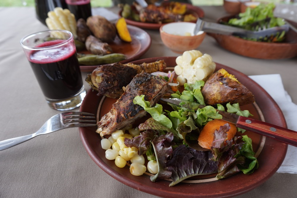 An Andean Pachamanca Lunch