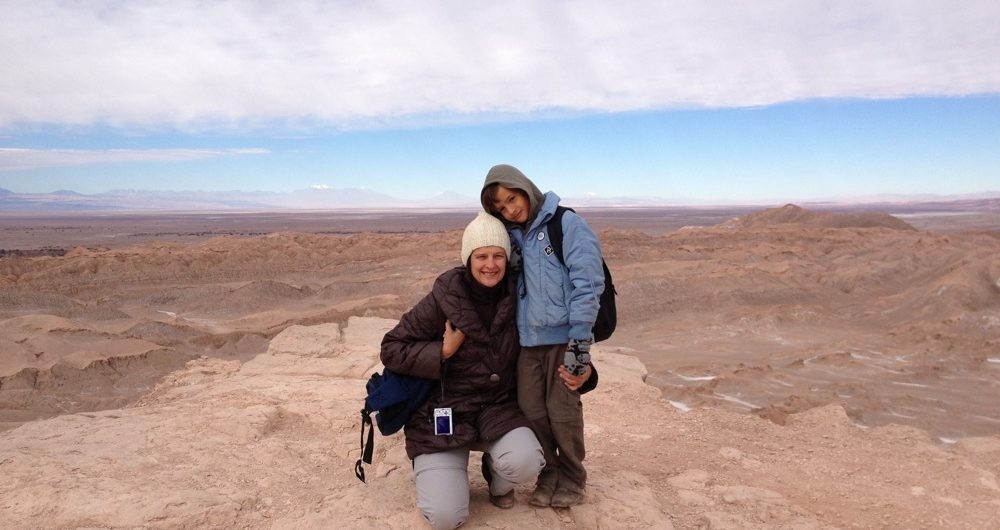 Marisol Mosquera top travel specialist Peru with her son