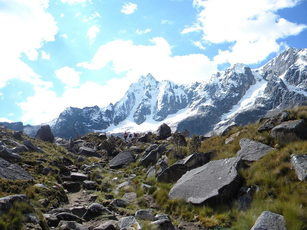 Cordillera Blanca Mountain Peaks
