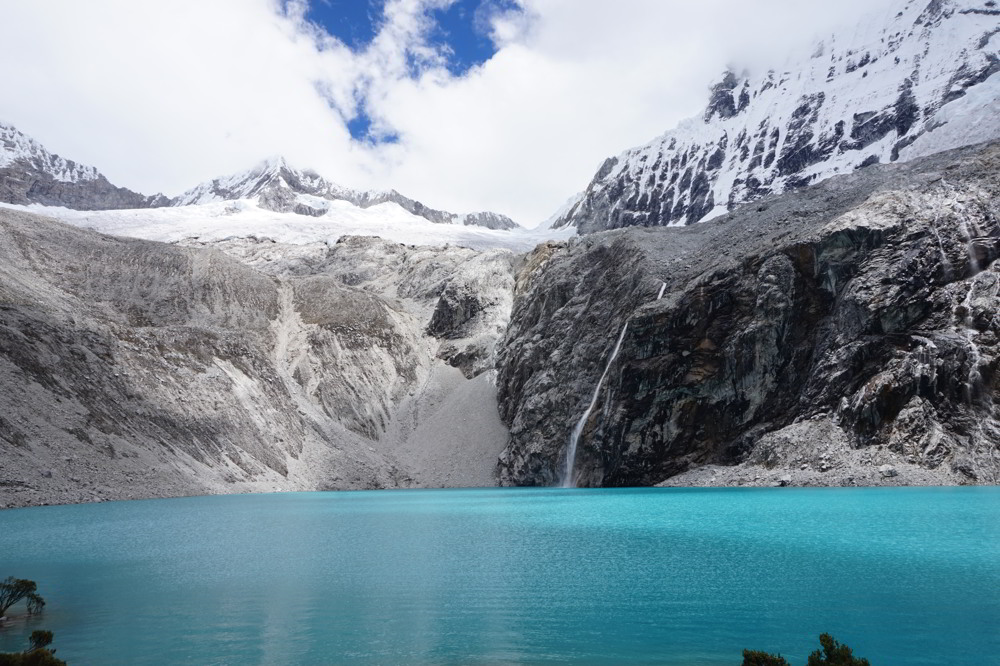 Laguna 69 in the Cordillera Blanca
