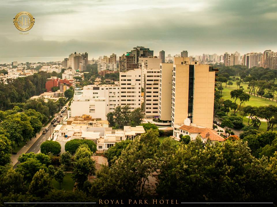 View of the Royal Park Hotel Lima