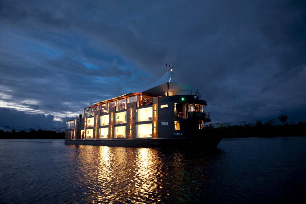 Aria Amazon Cruise: A Luxury Jungle Escape