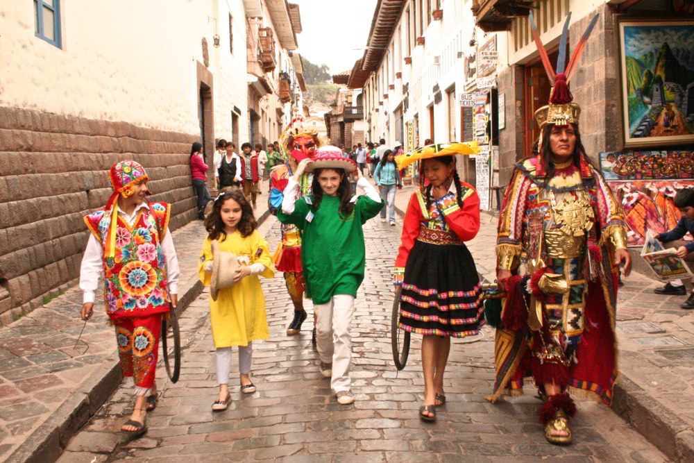 Peru family travel - Cusco