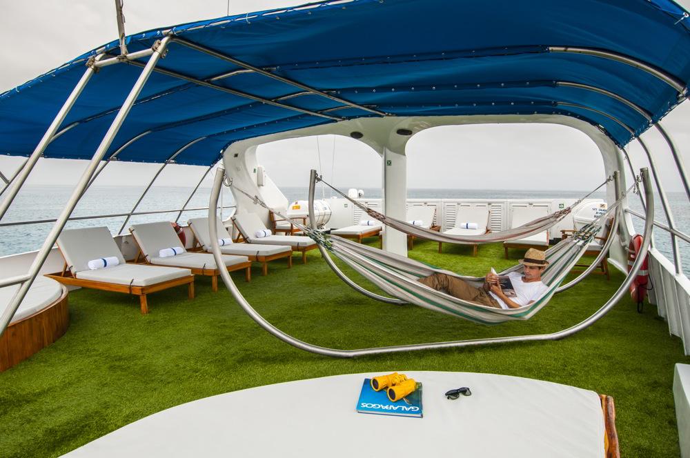 Galapagos Sky - outdoor deck