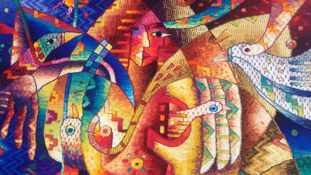 Maximo Laura – Master Peruvian Weaver
