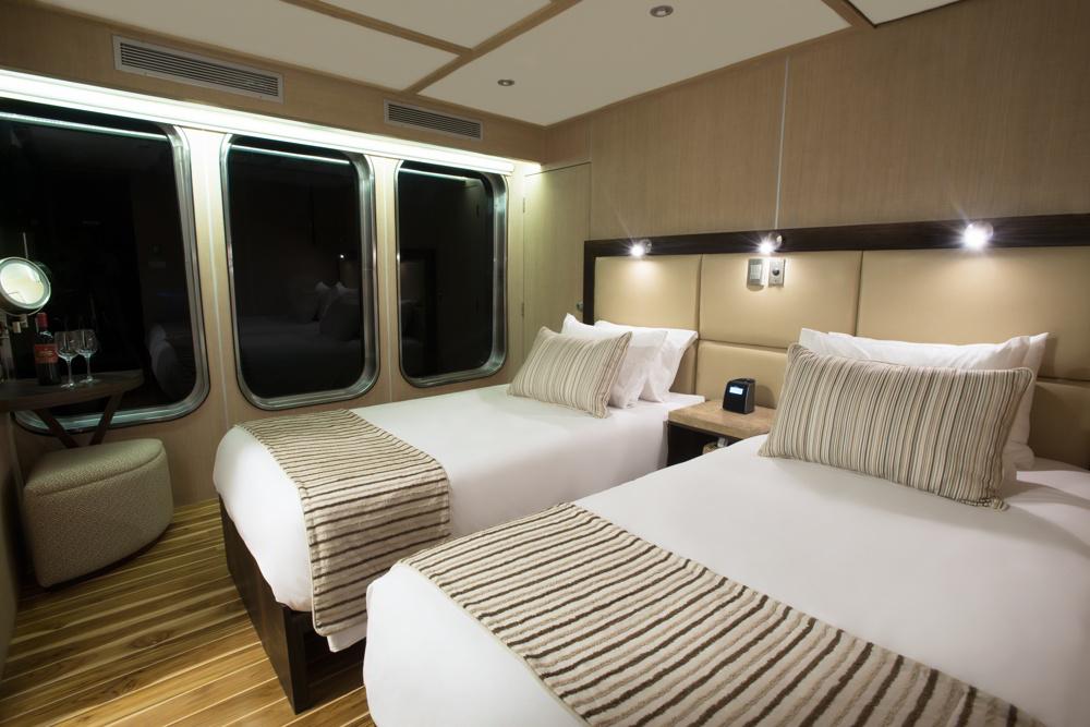 Origin Galapagos cruise - cabin