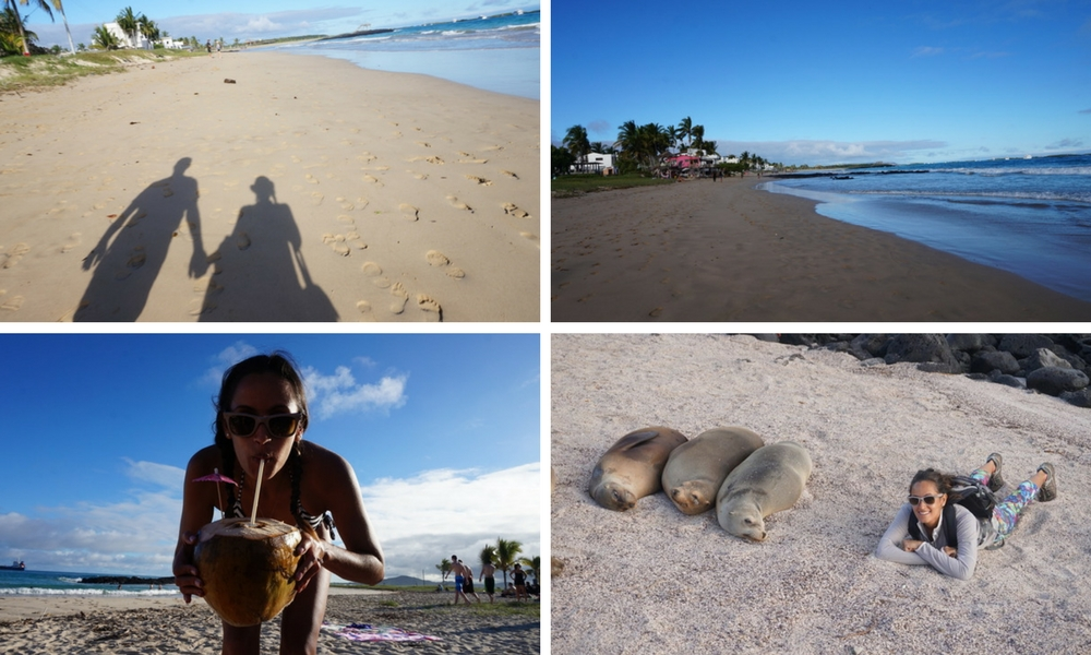 Luxury Galapagos honeymoon - beach time