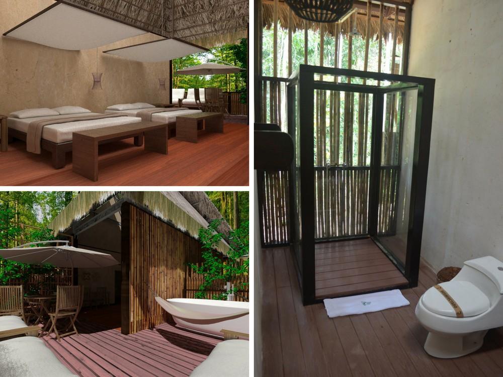 Luxury amazon lodge TRC accommodations