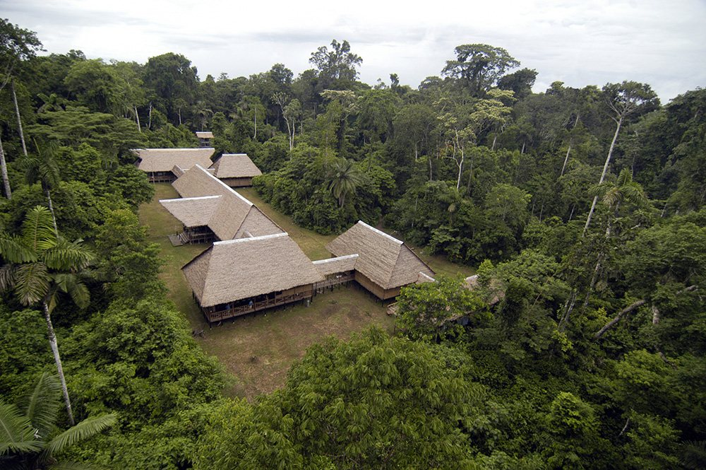 tambopata-research-center-exterior luxury amazon lodge