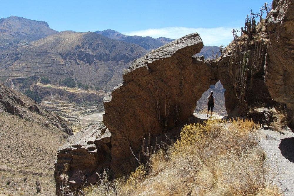 Hike in Colca Peru to Madrigal Chimpa Fortress (10)
