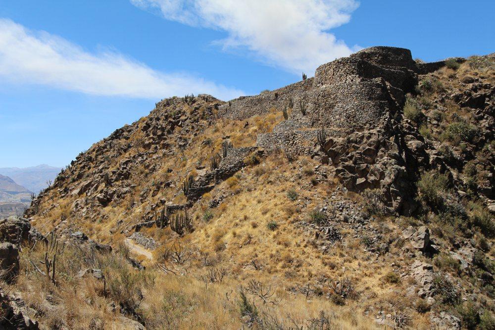 Madrigal Chimpa Fortress Hike in Colca Peru