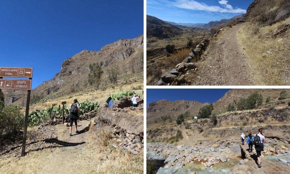Hike in Colca Peru to Madrigal Chimpa Fortress 21