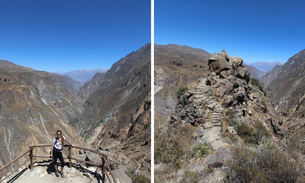 Hike in Colca Peru to Madrigal Chimpa Fortress 24
