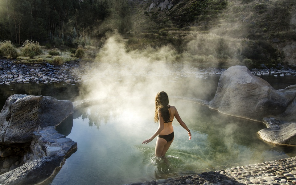 Natural Hot Springs Colca