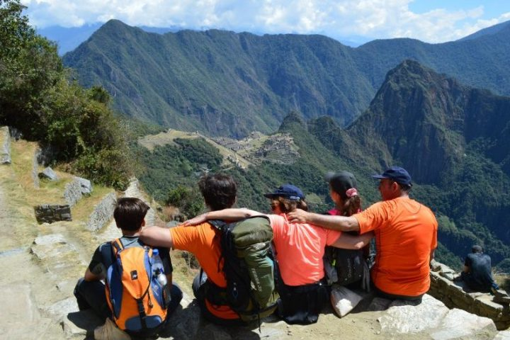 Family Inca Trail