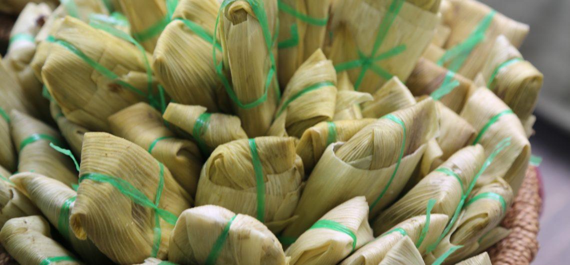 Peruvian food tamales