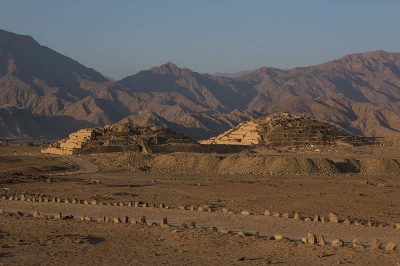 Caral from afar