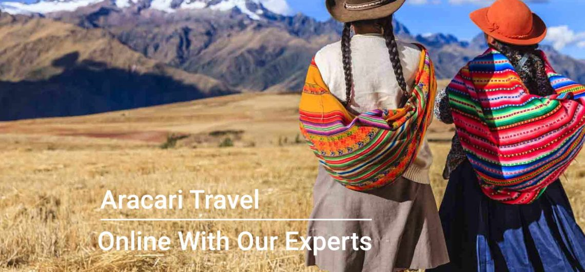 Online With Our Experts, Aracari Travel