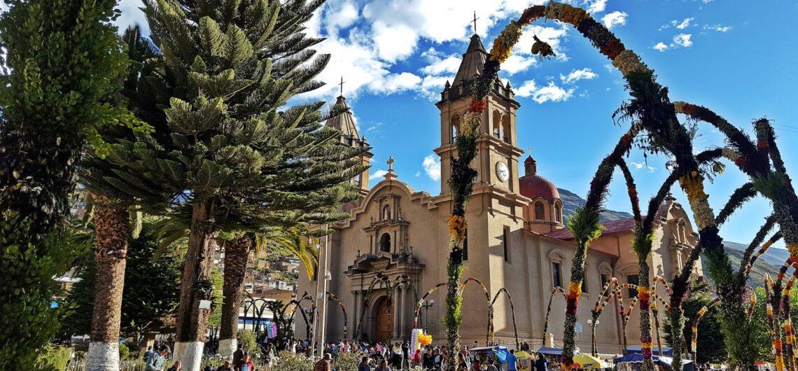 Easter events in Peru