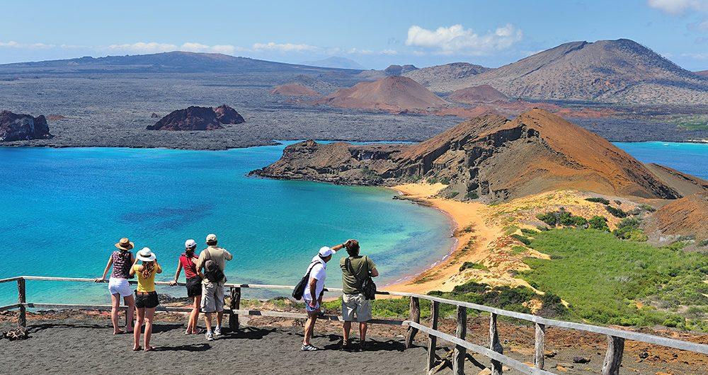 galapagos island landscape